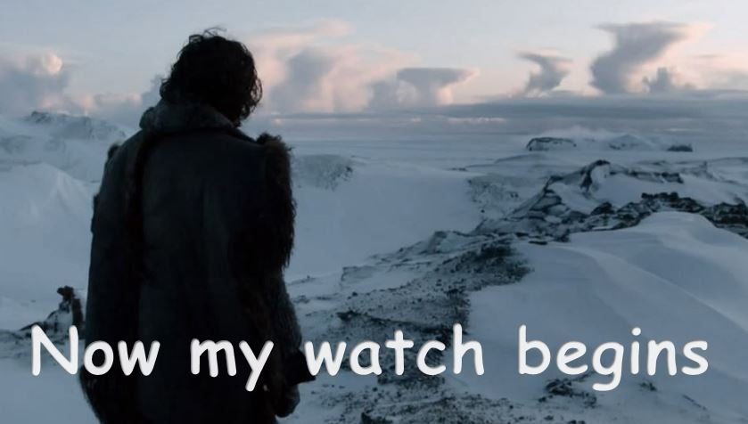 My watch begins