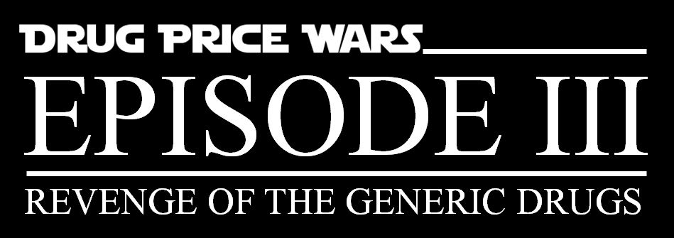 Drug Price Wars logo-Episode III